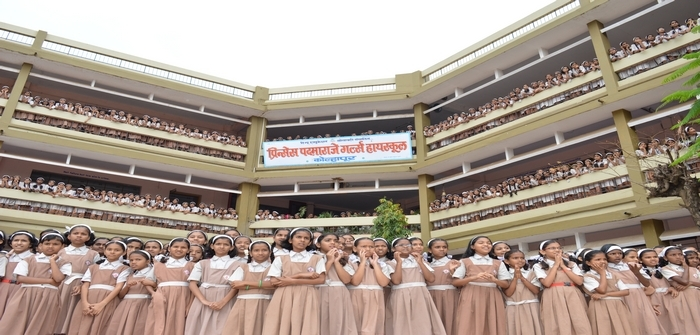 Prin.Padmaraje Girls High GANESH FESTIVAL celebrated by Teachers and Students